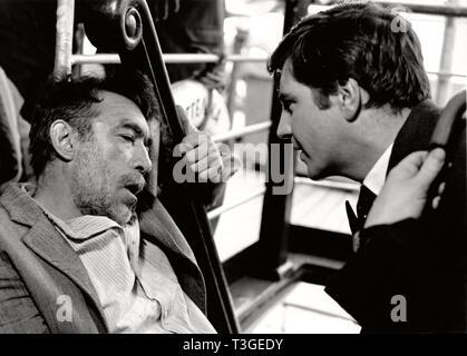 Alexis Zorbas / Zorba el Griego Año: 1964 EE.UU. Anthony Quinn, Alan Bates Director: Michael Cacoyannis Imagen De Stock
