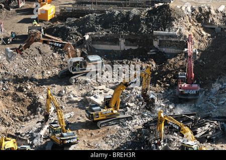 demolición Imagen De Stock