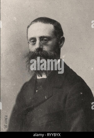 Retrato fotográfico de Tattegrain Colección de Félix Potin, de principios del siglo XX. Imagen De Stock