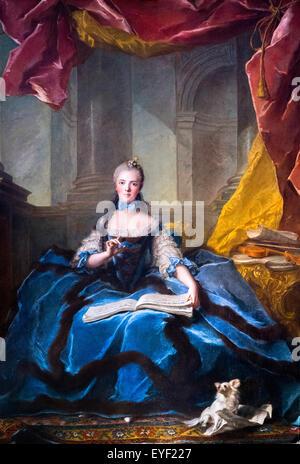 La Sra. Adelaida Solfiant 10/12/2013 - Colección del siglo XVIII. Imagen De Stock