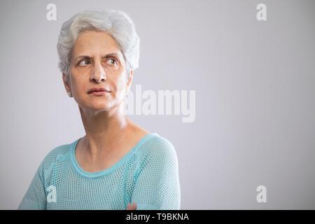 Retrato de mujer senior Imagen De Stock