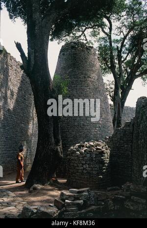 Zimbabue masvingo grandes ruinas de Zimbabwe Imagen De Stock