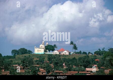 Uganda Kampala mezquita kibuli Imagen De Stock