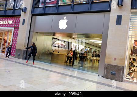Apple Store, grand arcade, Cambridge, Inglaterra. Imagen De Stock