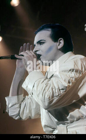 GARY NUMAN Inglés cantante y músico acerca de 1984 Imagen De Stock