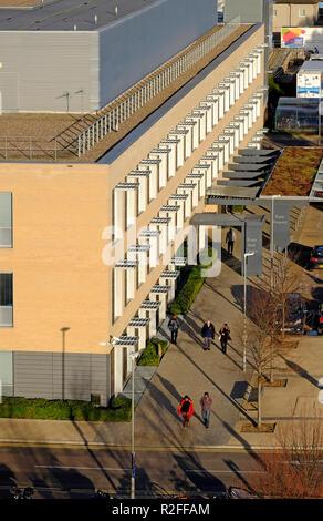 Addenbrooke's Hospital de la Universidad de Cambridge, Inglaterra Imagen De Stock