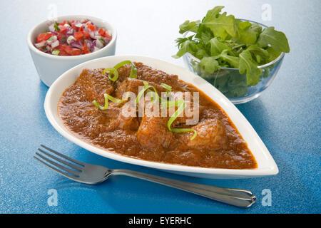 Pollo indio ROGAN JOSH Imagen De Stock