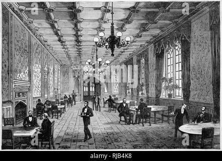 El salón de té Imagen De Stock