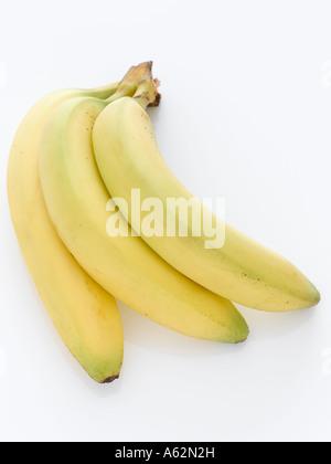 Los plátanos con disparo de medio formato digital profesional Imagen De Stock