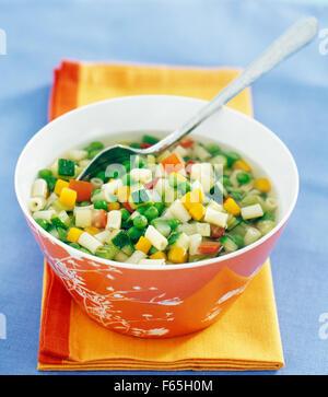 minestrone Imagen De Stock