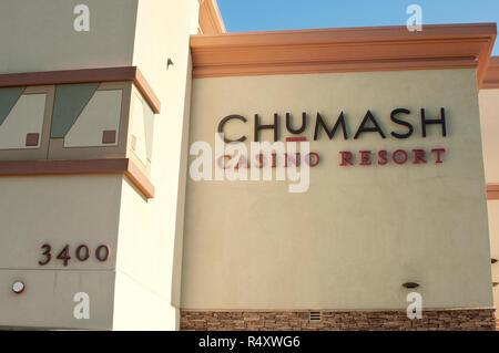 Chumash Casino Resort, Reserva de Santa Ynez, California. Fotografía Digital. Imagen De Stock