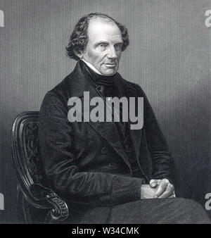 JOHN RUSSELL, primer Conde de Russell (1792-1878), político británico y dos veces primer ministro Imagen De Stock