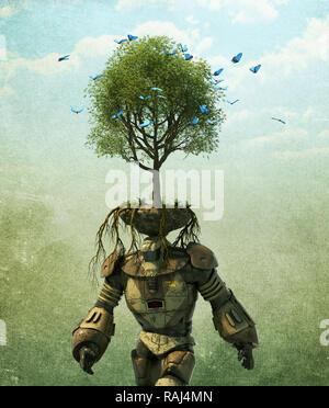 Respetuoso del medio ambiente Imagen De Stock