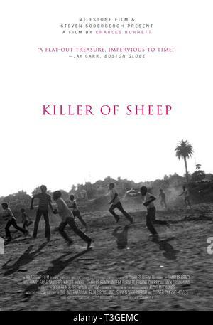 Asesino de ovejas Año 1978 - EE.UU. Affiche/póster, Director : Charles Burnett Imagen De Stock