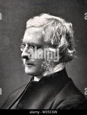 JOHN WILLIAM COLENSO (1814-1883) matemático inglés,erudito bíblico y primer obispo de la Iglesia de Inglaterra natal Imagen De Stock