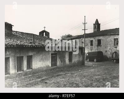 Cerdeña Nuoro Macomer S. Croce, esta es mi Italia, el país de la historia visual, Post-arquitectura medieval Imagen De Stock