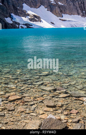 El parque nacional de Glacier, Montana Imagen De Stock