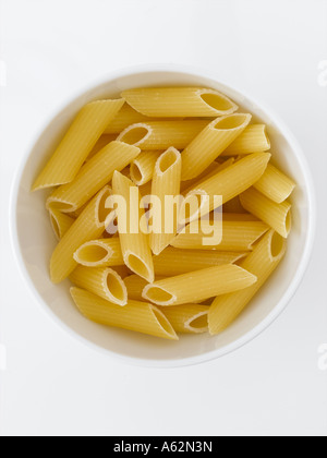 Pasta Penne con disparo de medio formato digital profesional Imagen De Stock