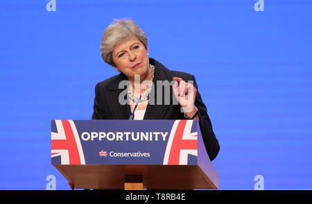 Teresa mayo MP, 2018 Imagen De Stock