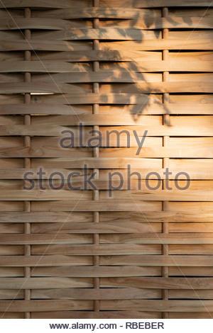 Pantalla de jardín. Jalakara Villa Hotel, Islas Andamán y Nicoar, India. Arquitecto: Ajith Andagere, 2016. Imagen De Stock