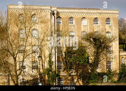 Molino de la abadía, la arquitectura en Bradford On Avon Imagen De Stock