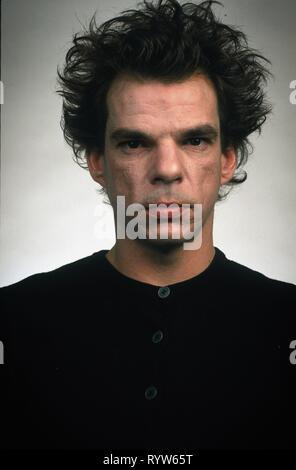 Retrato del actor francés Denis Lavant. 1993 Imagen De Stock