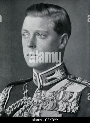 Su Alteza Real el Príncipe de Gales, foto Swaine desde programa de recuerdo del Rey George's Jubilee, publicado Imagen De Stock