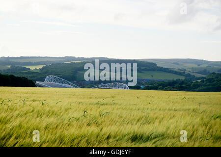 La American Express Community Stadium en Brighton, hogar de Brighton y Hove Albion Football Club en el South Downs Imagen De Stock