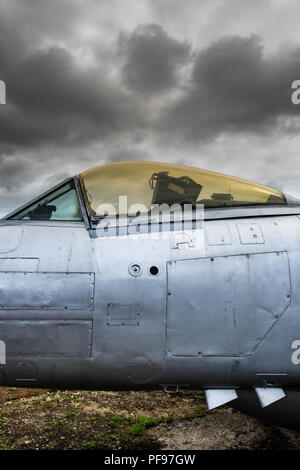 El Gloster Meteor fue el primer británico jet fighter y los Aliados' sólo aviones jet para lograr operaciones de combate durante la Segunda Guerra Mundial. La M Imagen De Stock
