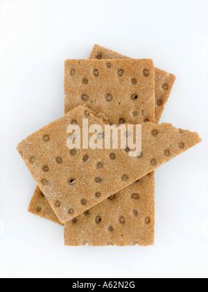 Crispbreads shot con medio formato digital profesional Imagen De Stock