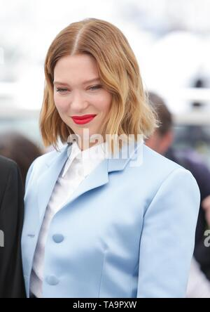Cannes, Francia. 23 Mayo, 2019. Lea Seydoux,2019 Cannes Crédito: Allstar Picture Library/Alamy Live News Crédito: Allstar Picture Library/Alamy Live News Imagen De Stock
