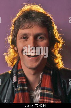 La cantante pop inglés Paul Nicholas aproximadamente 1970 Imagen De Stock