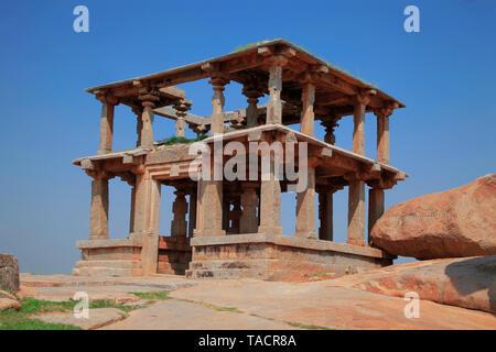 Vijaynagar hampi,el estado de Karnataka Imagen De Stock