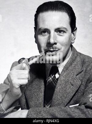Henry Patterson (b. 1929), novelista y thriller de espionaje británico con el nombre de pluma de Jack Higgins Imagen De Stock