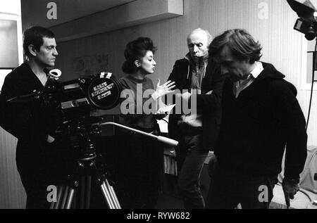 Les Nuits de la pleine lune Año: 1984 - Francia Tchéky Karyo, Pascale Ogier, Eric Rohmer Director : Eric Rohmer imágenes Imagen De Stock