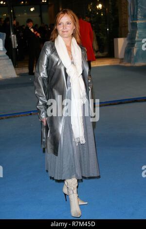 MIRANDA RICHARDSON LA PREMIER DE LA PELÍCULA LAS CRÓNICAS DE NARNIA el Royal Albert Hall de Londres, Inglaterra 07 de diciembre de 2005 Imagen De Stock