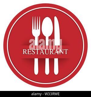Plantilla para el diseño y la decoración del restaurante de menú, catering o gastro servicio, diseño plano Imagen De Stock