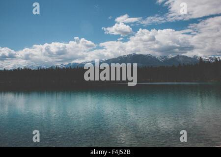 Bellas imágenes de viajes de Jasper, Canadá Imagen De Stock