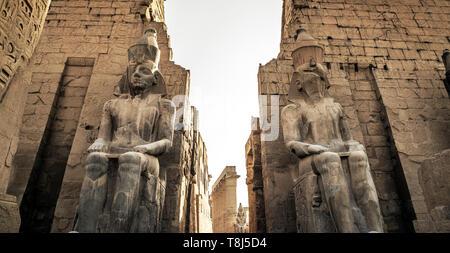 Templo de Luxor, Luxor, Egipto Imagen De Stock