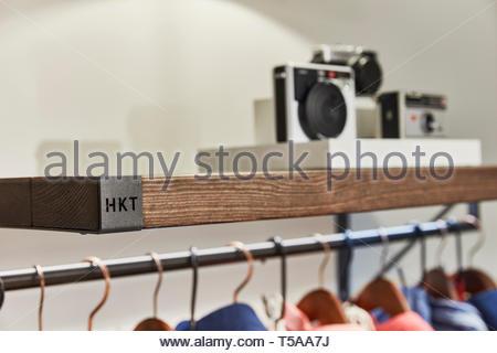 Detalles en HKT. HKT Showroom, Londres, Reino Unido. Arquitecto: N/A, 2019. Imagen De Stock