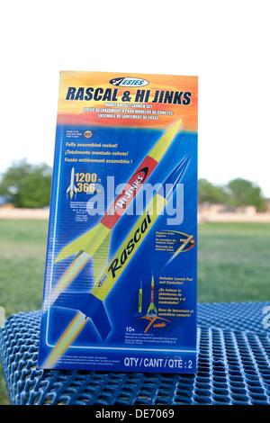 Modelo kit rock, Rascal y Hi Jinks Imagen De Stock
