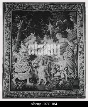 Ceremonia sagrada antes de la salida de Antony a la guerra Imagen De Stock