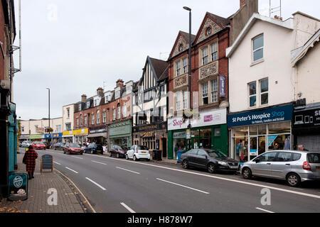 Tiendas en Gloucester Road, St Andrew's Bristol Imagen De Stock