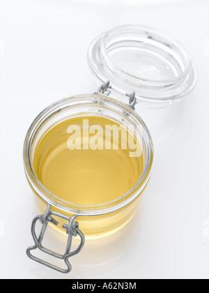 Miel de Acacia con disparo de medio formato digital profesional Imagen De Stock