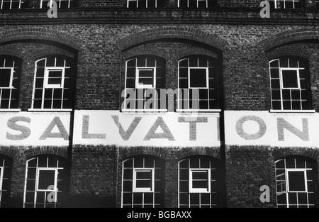 Fotografía del refugio del Ejército de Salvación sin hogar victoriano de Londres, Gran Bretaña. Imagen De Stock