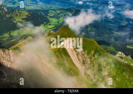 Capilla del Monte Pilatus, Klimsenhorn, Suiza Imagen De Stock