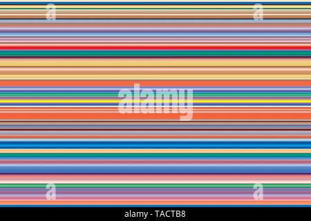 Arte moderno equipo pinturas digitales hipnotizador imaginación creativa colorida vhm línea 13/11/2014. Imagen De Stock