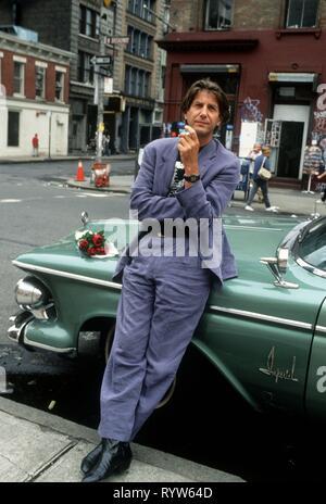 El actor norteamericano Peter Coyote en la Ciudad de Nueva York, 1992. Imagen De Stock