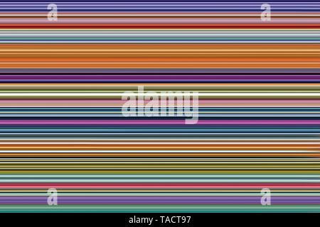 Arte moderno equipo pinturas digitales hipnotizador imaginación creativa colorida vhm línea 10/11/2014. Imagen De Stock