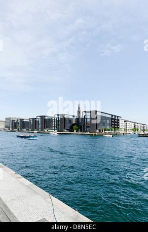 Arquitectura moderna, Christianshavn, Copenhague, Dinamarca, Europa Imagen De Stock